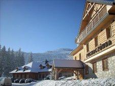 Hotel Puchaczówka zimą